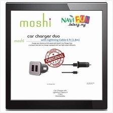 ★ Moshi Car Charger Duo with Lightning Cable 6 ft (1.8m)
