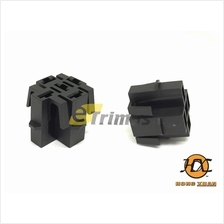 Bosch Type ECU Engine Mounting Lock Relay Base Holder Socket Connector (2PCS)
