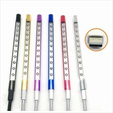 USB 10 LED Light Flexible USB Lamp For Notebook Laptop Computer