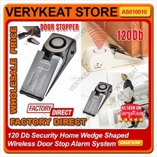 120Db Wireless Home Security Door Stop Stopper Alarm Protection