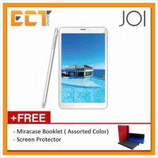 JOI 8 Lite 16GB 3G Dual Sim + Universal Booklet Case + Screen Protector (Pearl