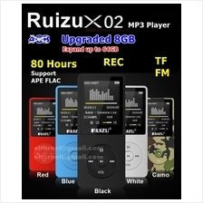 Ruizu X02 8GB MP3 MP4 Player Voice Recording Radio FM Video Ebook