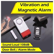 Door and Window Magnetic Alarm with Sensor Doorbell