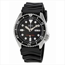 SEIKO Automatic Diver's SKX013 SKX013K1 Rubber Mens Watch