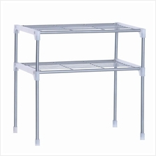 Oven Rack 2-Tier - Microwave Rack - Shoe Rack- Book Rack