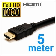 High Speed Gold Plated HDMI to HDMI Cable 5m HDTV LCD TV Projector New