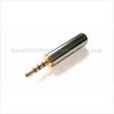 2.5mm Male to 3.5mm Female Headset Earphones Audio Converter Adapter