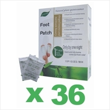 36 x Original Jun Gong Detox Foot Patch Health Pad 10pcs Box