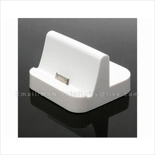 New Charger Dock Stand Cradle USB Holder White Station for Apple iPad