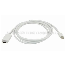 Mini DisplayPort to HDMI Male Converter Cable 1.8M MacBook Pro Air New
