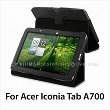 """Acer Iconia Tab A700 A701 Leather Stand Case 10.1"""" Tablet Cover New"""