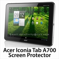 Acer Iconia Tab A700 A701 Transparent Clear Screen Protector Cover New