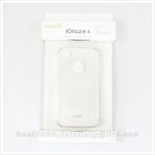 Moshi iGlaze Crystal Clear Snap-On Hard Case Apple iPhone 4 Protector