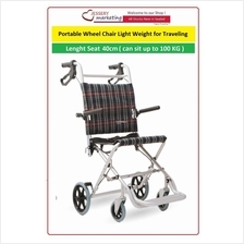 Portable Wheel Chair Light Weight for Traveling Model 46