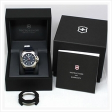 Victorinox Swiss Army INOX Blue Dial and Rubber Strap Watch 241688.1