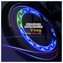 MTB Superb Cool LED Bicycle Lamp Wheel Spoke Light With 10 Patterns