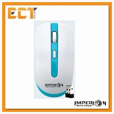Imperion IP-WM1 1600 DPI Wireless Optical Mouse (White with Blue)