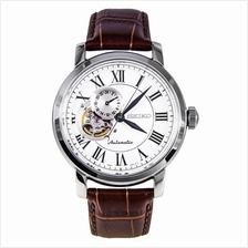 SEIKO SSA231K1 SSA231 Premier Automatic Leather Mens Watch