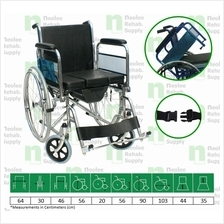 [Neolee] Kerusi Roda Tandas Shower Commode Wheelchair