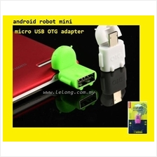 Android Robot Mini Micro USB OTG Adapter  for Samsung Galaxy S4 Note 3