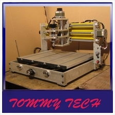 Engraving machine CNC aluminum plate  milling drill machine central