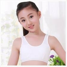 Young Girl Training Bra Children Sports Bra Girls (Size : 70A)