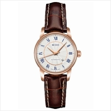 MIDO M7600.2.21.8 BARONCELLI II Lady Automatic Date leather silver