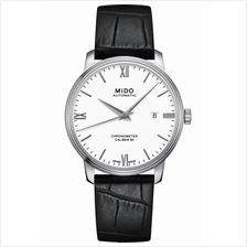 MIDO M027.408.16.018.00 BARONCELLI Gent Automatic COSC leather white