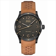 MIDO M025.407.36.061.10 MULTIFORT Gent Automatic leather anthracite