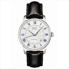 MIDO M8600.4.21.4 BARONCELLI II Gent Automatic Date leather silver