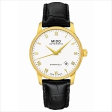 MIDO M8600.3.26.4 BARONCELLI II Gent Automatic Date leather white