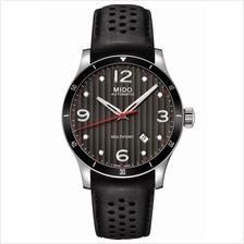 MIDO M025.407.16.061.00 MULTIFORT Gent Automatic leather black