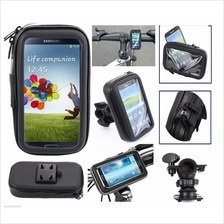 Bike Bicycle Motorcycle Waterproof Phone Case bag with Mount Holder