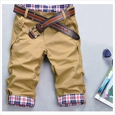 MT058023 Korean Slim Men Short Pants Trousers)