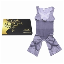 Grey Colour Natural Bamboo Slimming Suit