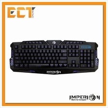 Imperion GIP-K3 Double Spring Tri-Colour LED Gaming Keyboard (Black)
