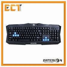 Imperion GIP-K1 Double Spring Wired Gaming Keyboard (Black)