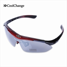 COOLCHANGE 0089 OUTDOOR SPORT FISHING CYCLING GLASSES EYEWEAR (RED)