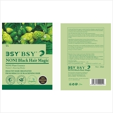 Trial order:- BSY NoniMagic Dark Brown 1 sachet  & BSY noni black hair magic 1