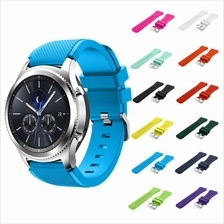Samsung Gear S3 Frontier Classic Sports Silicone Bracelet Strap Band