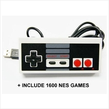 Classic Nintendo Game Controller + 1600 NES Games for PC (Ready Stock)