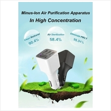 3 USB Port Car Air Purifiers Ionizer Freshener Oxygen Bar With Charger
