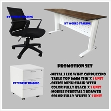 Office Table | Office Chair | Office Furniture Promotion Set KT-PS1A