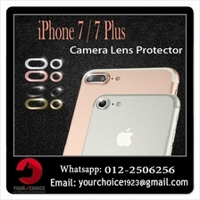 Camera Lens Protector Protection Ring for iPhone 7 7 Plus Rock