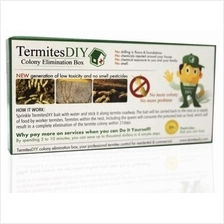 TERMITES DIY BAITING SYSTEM 2nd Edition KILL THE ENTIRE TERMITE COLONY