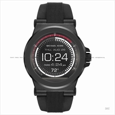 MICHAEL KORS ACCESS MKT5011 Dylan Smartwatch Silicone Strap Black