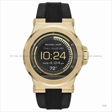 MICHAEL KORS ACCESS MKT5009 Dylan Smartwatch Silicone Black Gold