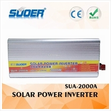 Suoer Car Solar Power Inverter 2000W 12V To 230V Adapter Converter