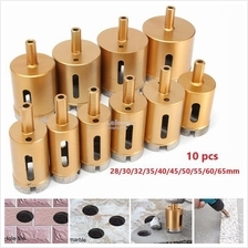 28-65mm Diamond Hole Saw Drill Core Bit For Marble Granite Tile Cerami