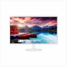 "Samsung S32F351FUE 32"" Full HD LED Monitor (x 2 HDMI) - White"